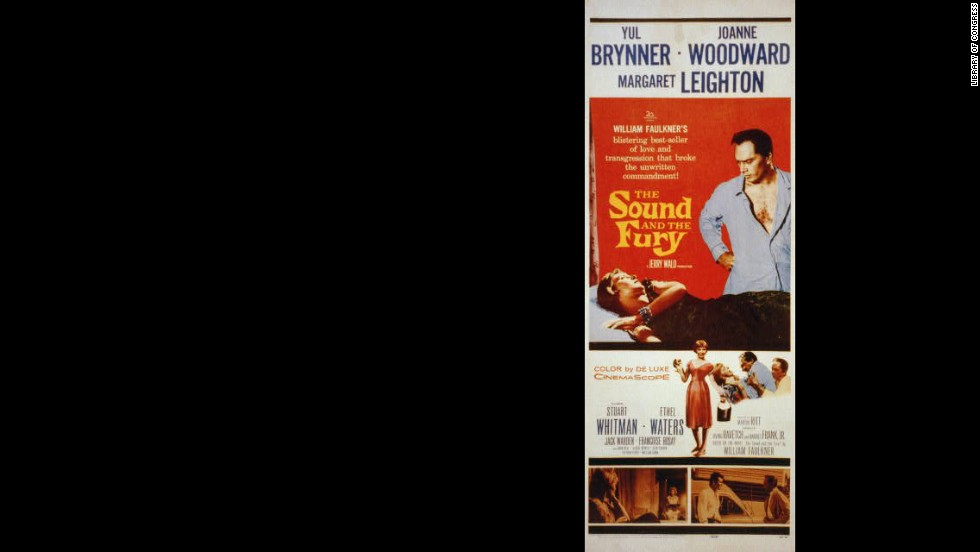 "Martin Ritt's 1959 film adaptation of William Faulkner's complex 1929 classic ""The Sound and the Fury"" bears little resemblance to the book."