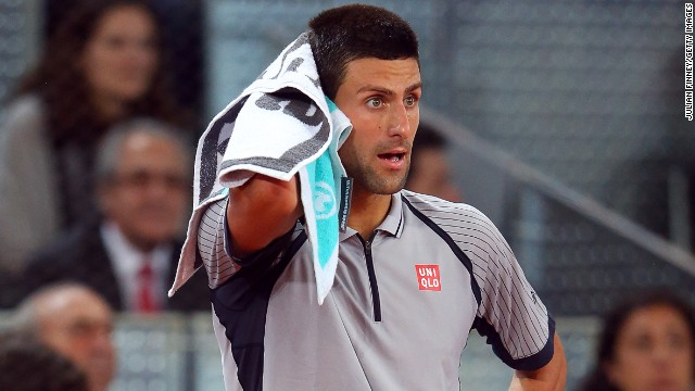 Novak Djokovic was stunned in the second round of the Madrid Open by Grigor Dimitrov