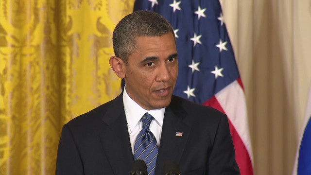 Obama takes aim at Syria,  North Korea