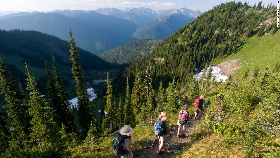Mountain Trek Health hiking boot camps in British Columbia will help you shed the pounds on daily hikes, where you might appreciate the nature as much as your shrinking waistline.