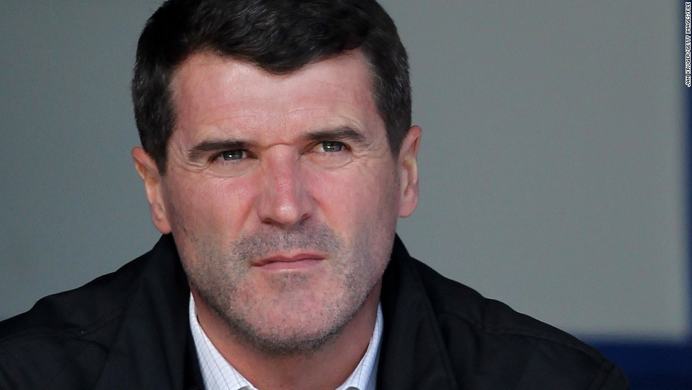 "Roy Keane played for Manchester United between 1993 and 2005, but the Republic of Ireland midfielder fell out spectacularly with the Old Trafford manager after he criticized his teammates on the club's television channel. ""What I noticed about him that day as I was arguing with him was that his eyes started to narrow, almost to wee black beads. It was frightening to watch. And I'm from Glasgow,"" writes Ferguson."