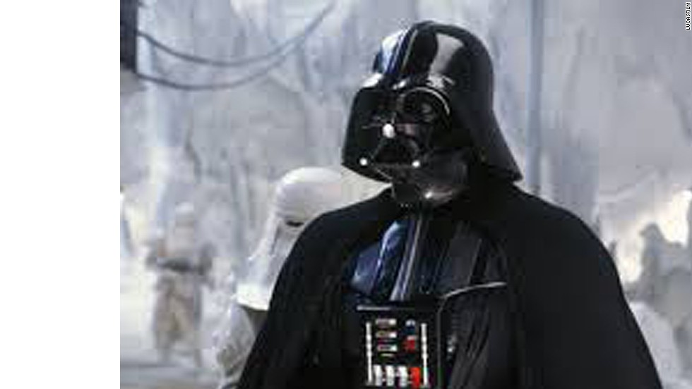 """Star Wars'"" Darth Vader, played by David Prowse and voiced by James Earl Jones, is one of the most notable cinematic villains of all time."