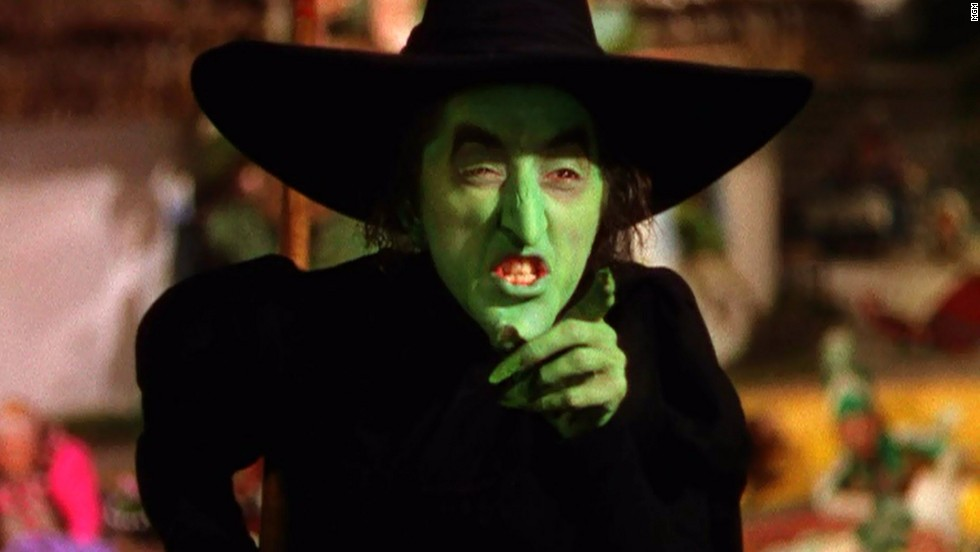 "Margaret Hamilton played Wicked Witch of the West/Miss Gulch in 1939's ""The Wizard of Oz."" In the end, her evil laugh, broomstick and flying monkeys were no match for a pail of water."