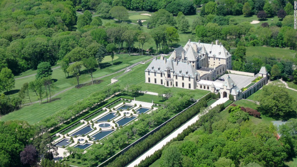 "Take a heady trip back to Jazz Age opulence on Long Island's Gold Coast, a wealthy retreat near New York City where F. Scott Fitzgerald set ""The Great Gatsby."" <a href=""http://www.oheka.com"" target=""_blank"">Oheka Castle</a>, completed in 1919, was owned by financier and philanthropist Otto Hermann Kahn. The cost of construction at the time? $11 million ($110 million in today's dollars). Not bad for a summer home."