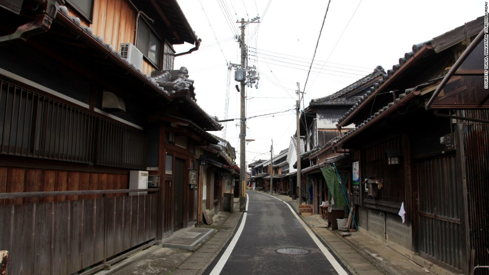 Walking the streets in Yuasa's preserved district is like traveling back in time. The town is usually quiet, with few tourists.