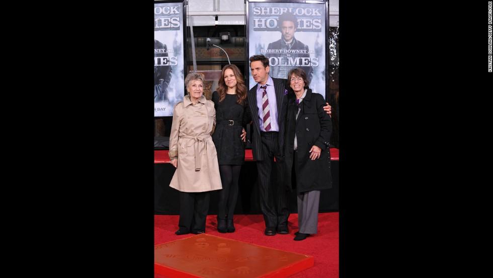 Robert Downey Jr.'s mom, Elsie Downey.