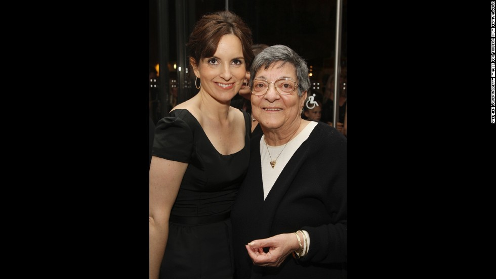 Tina Fey's mother, Jeanne Fey.