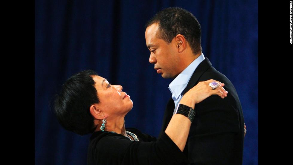 Tiger Woods' mom, Kultida Woods.