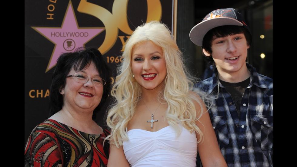 Christina Aguilera's mother, Shelly Kearns.