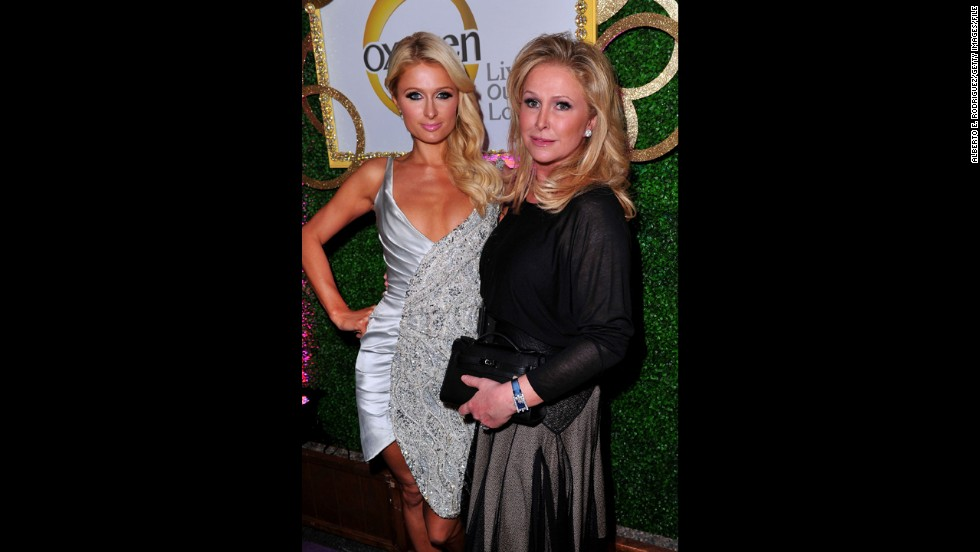 Paris Hilton's mom, Kathy Hilton.