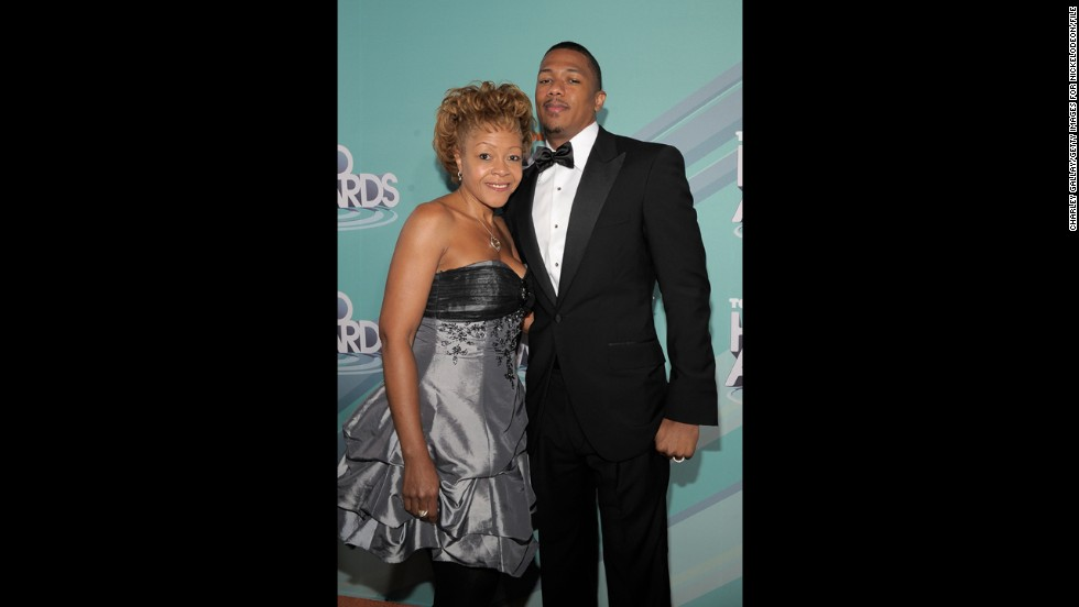 Nick Cannon's mother, Beth Hackett.