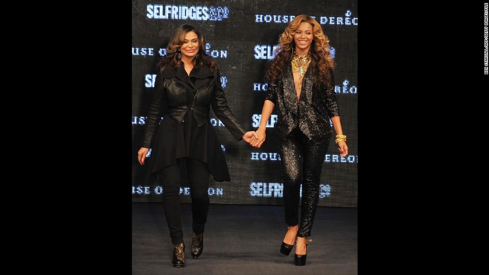 Beyoncé's mother, Tina Knowles.