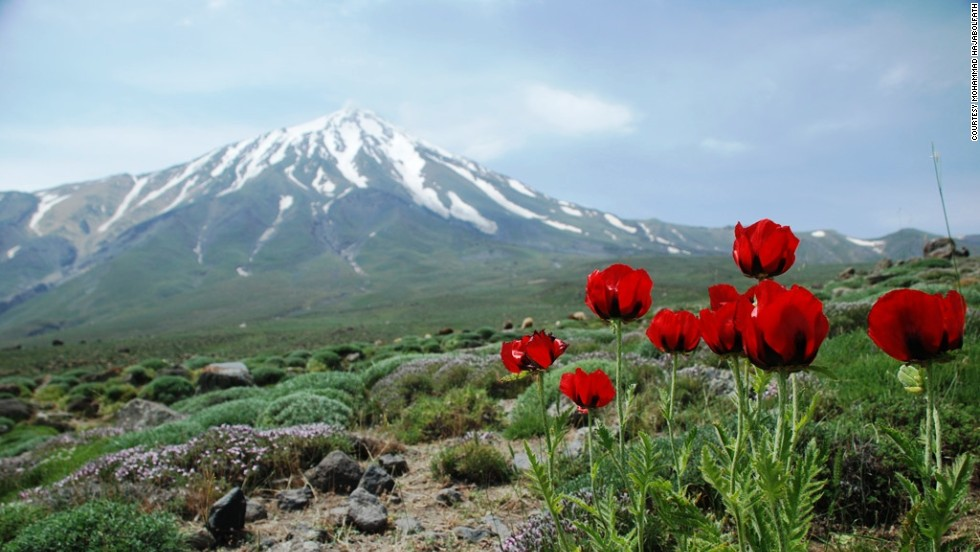 Standing 5,671 meters (18,605 feet) at the heart of the Alborz range, Mount Damavand is the highest volcano in Asia and a ubiquitous Iranian icon, gracing everything from bottled water advertisements to the 10,000 rial banknote. It's also one of the planet's great trekking peaks.