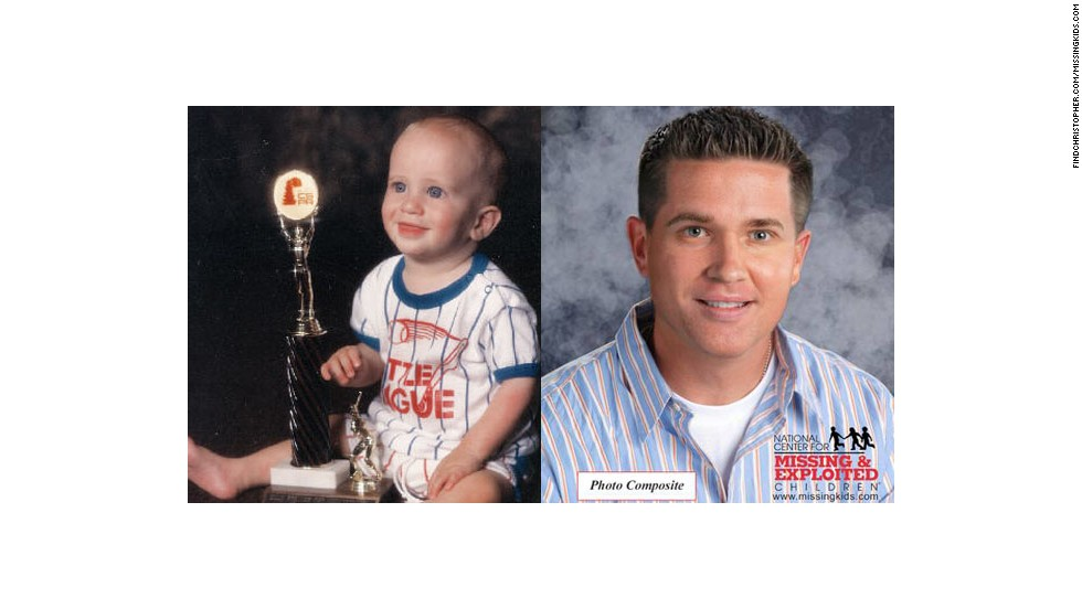 Christopher Abeyta was only 7 months old when he was taken from his crib in 1986.  This year, his family announced a $100,000 reward for help in finding Christopher, who would be 27 today and may look like the image rendering on the right.