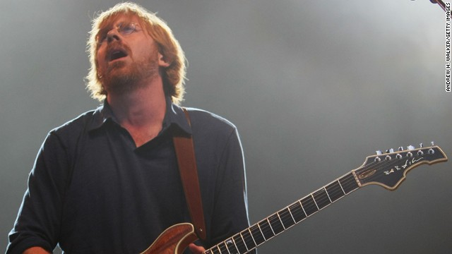 Trey Anastasio: Giving hope to gingers since 1983.