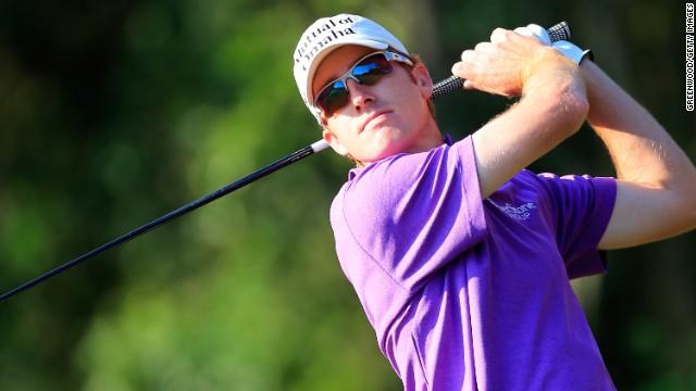 American Roberto Castro played college golf at Georgia Tech in Alabama.