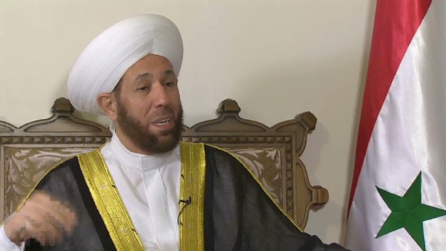 Grand mufti: Close Syrian borders