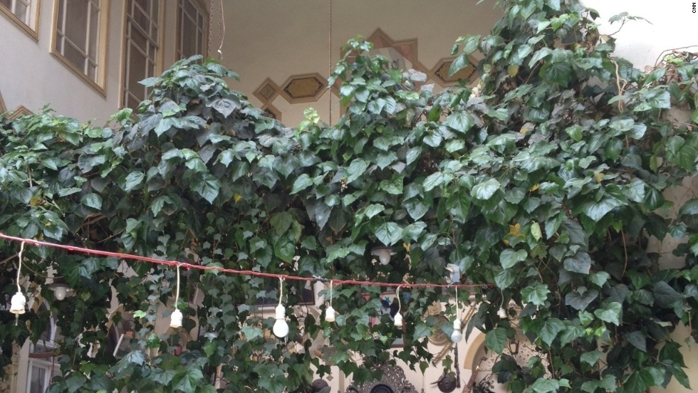 Homes in Damascus's historic center can be very grand, and often have atriums where orange and lemon trees grow. So far the old city and souk have not been hit by bombs or an attack, but the fear is that they might.