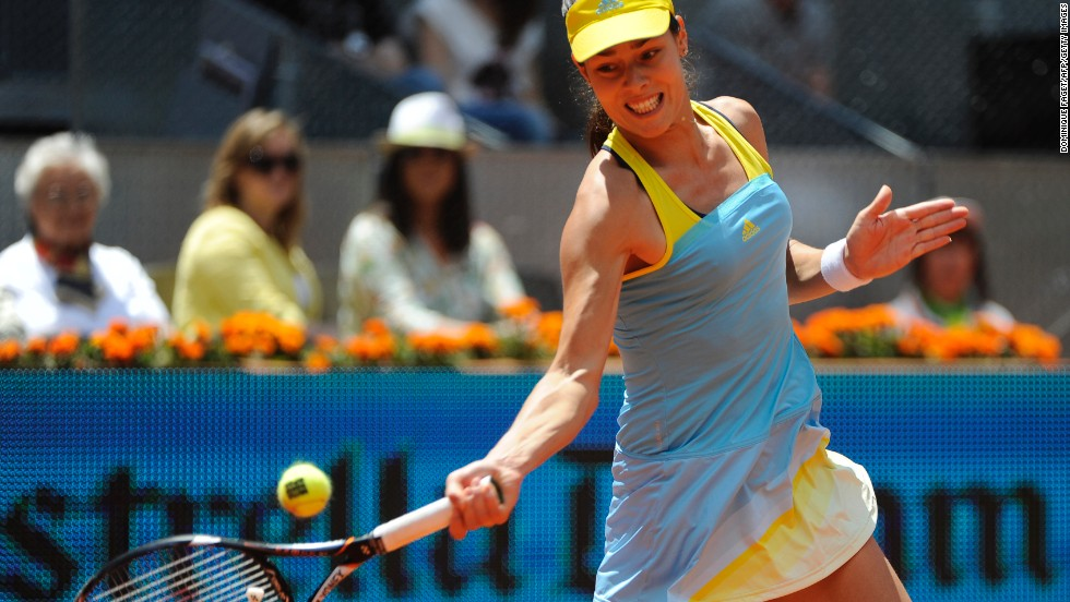 Ivanovic, a former world No. 1 now ranked 16th, was unable to repeat the form of her quarterfinal victory over German sixth seed Angelique Kerber.