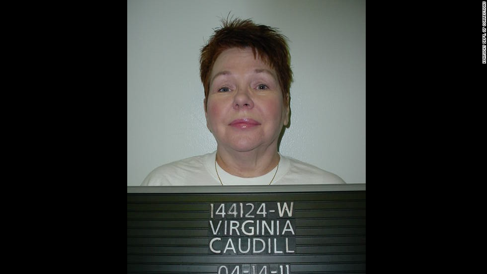 Virginia Susan Caudill was 37 when she robbed and murdered a 73-year-old woman in Lexington, Kentucky, on March 15, 1998. She was  sentenced on March 24, 2000.