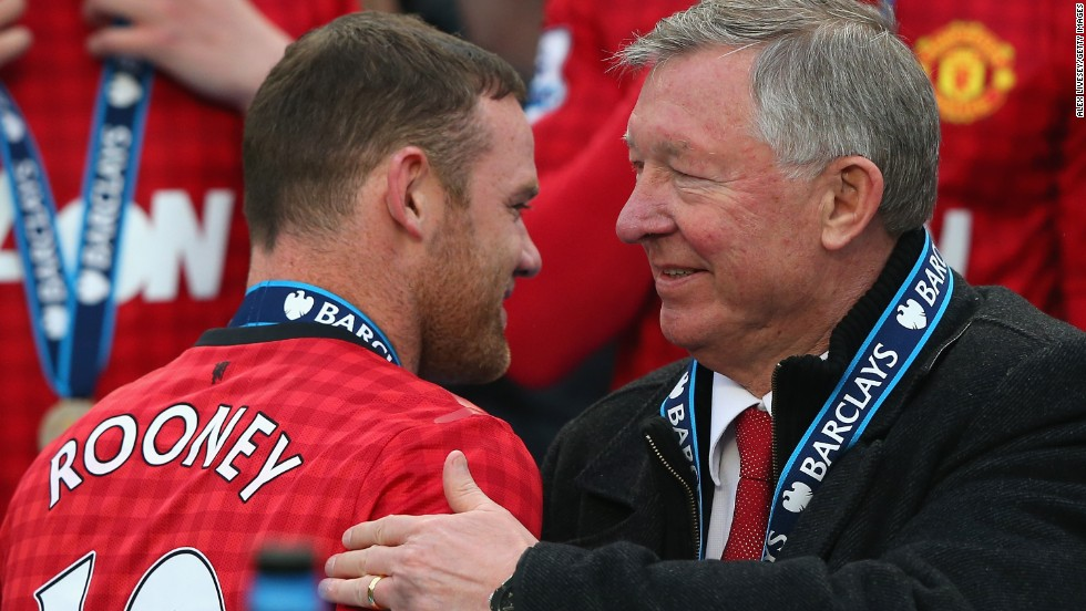 Ferguson did not select Wayne Rooney in his match-day squad, and later revealed that the England striker has asked to leave United.