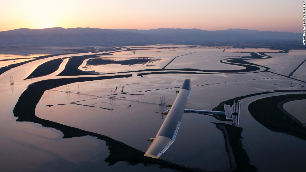 "Green fuels have been given a boost this month with the help of the <a href=""/2011/11/29/tech/solar-impulse/index.html"" target=""_blank"">Solar Impulse</a>, a solar-powered airplane <a href=""/2013/05/13/tech/solar-plane/index.html"" target=""_blank"">making its way across America</a>. The plane is breaking distance records for solar flight, and proving that aviation can be a zero-emission enterprise."