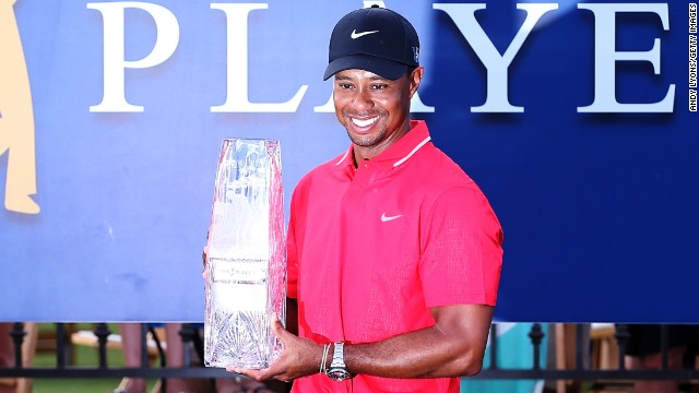 World No. 1 Tiger Woods won the Players Championship for the first time since 2001.