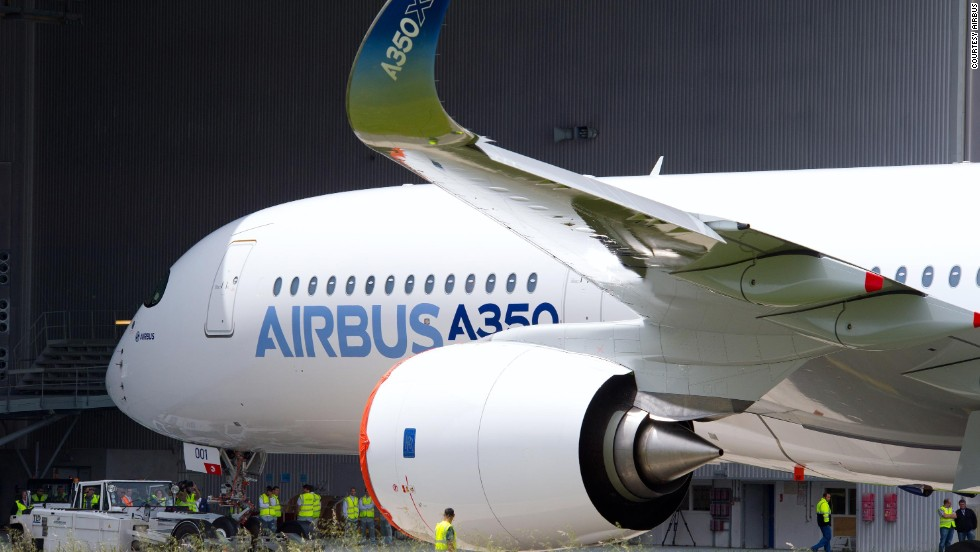 After completion of painting, Airbus' first A350 XWB will begin final testing in advance of its maiden flight. The plane is built to cruise at a speed of Mach 0.85