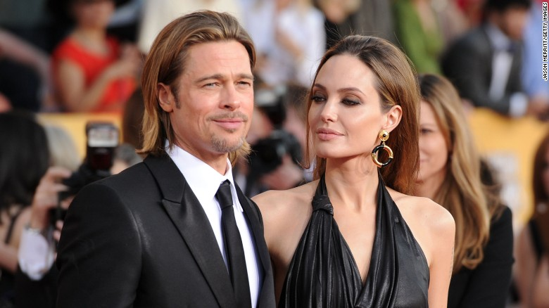 Brad Pitt and Angelina Jolie were together for almost a decade before they married in 2014.