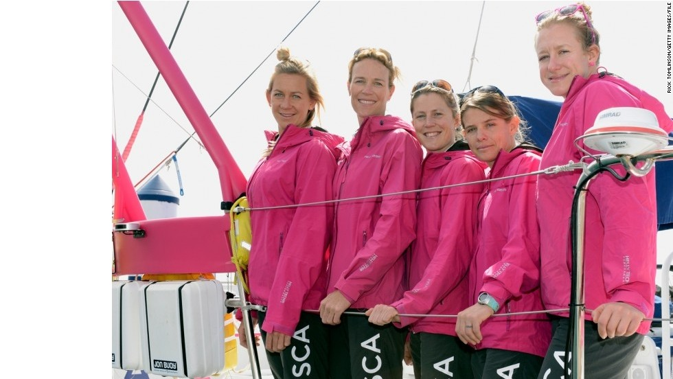 The five professional sailors will be part of an 11-strong crew racing around the globe in a nine-month voyage, stopping at nine countries.