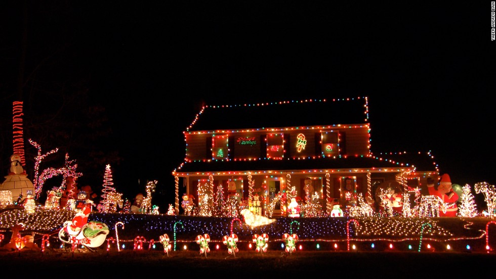 Other countries have Christmas lights (fairy lights, in the UK), but no one else takes the task of impressing the neighbors quite as seriously as Americans.