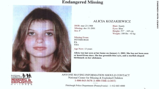 Alicia Kozakiewicz's missing poster