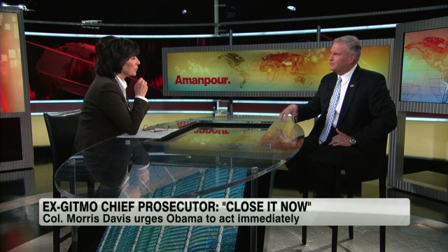 Ex-Gitmo prosecutor: 'Close it now'