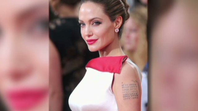 Writer: Public focus on Jolie's breasts
