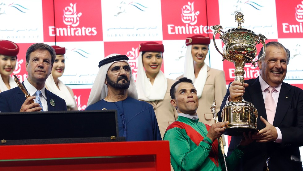 "Rosario's success at the Dubai World Cup in March catapulted him onto the international stage. ""I never thought I was going to win Dubai,"" the softly spoken jockey told CNN."