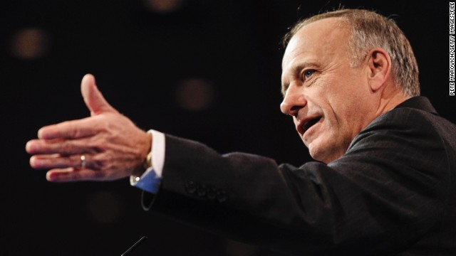 "America's growing Hispanic vote is ""a huge boon for Democrats,"" says Rep. Steve King, R-Iowa."
