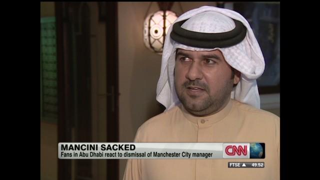 Manchester City sacks manager Mancini
