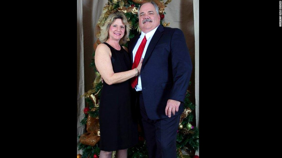 """Debbie Benzine lost her first husband to heart disease. """"I did not want to lose another,"""" she said."""
