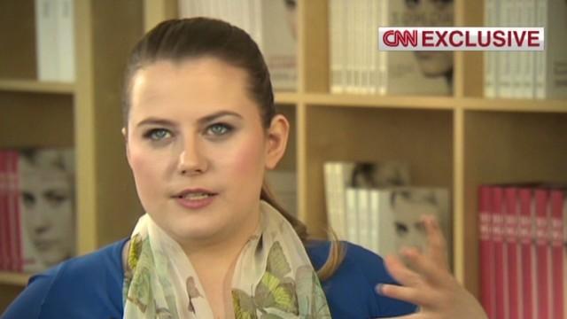 Former abductee Natascha Kampusch speaks