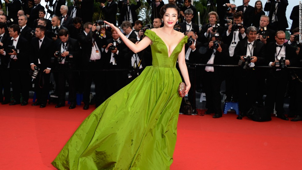 """Zhang Yuqi at """"The Great Gatsby"""" premiere."""