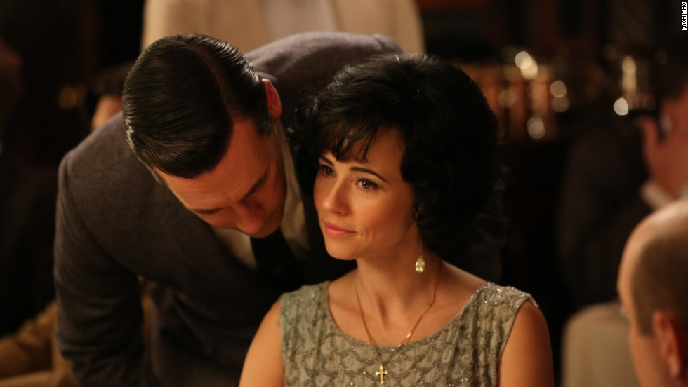 "Sylvia Rosen (Linda Cardellini) was just one of the many women Don Draper (Jon Hamm) strayed with on ""Mad Men."""