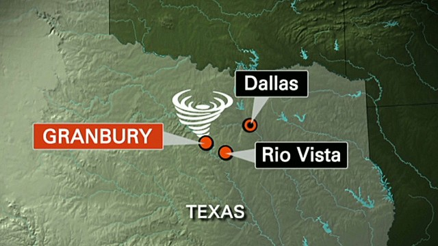 Deadly tornado hits Texas