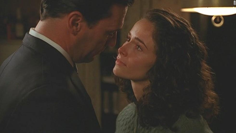 """Mad Men's"" Don Draper (Jon Hamm) also had a torrid affair with Suzanne Farrell (Abigail Spencer)."