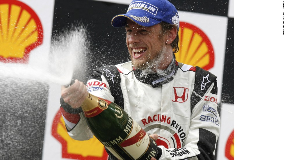 There was an early highlight for Honda as Jenson Button won a wet 2006 Hungarian Grand Prix -- but it was to be Honda's only victory during its three-year return to the grid.