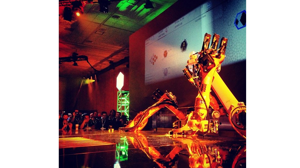 The robot made its debut in San Francisco at Google's I/O Conference