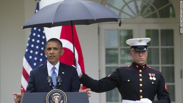 President Obama's not so bad week
