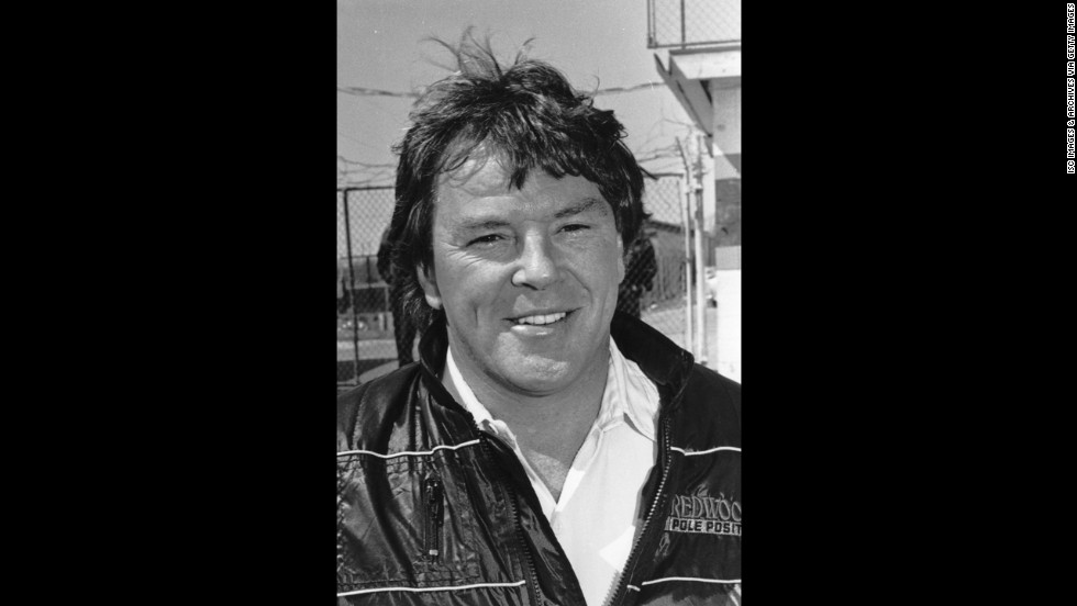 Dick Trickle poses for a photo in the 1980s.