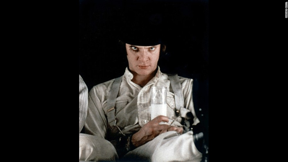 "Stanley Kubrick's adaptation of Anthony Burgess' ""A Clockwork Orange"" in 1971 brought us the ""ultraviolent"" Alex, as played by Malcolm McDowell. Although Alex is unquestionably brutal in the film, the character's style is almost more memorable than his actions."