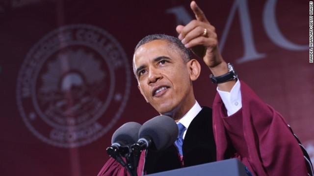 Hear Obama inspire graduates