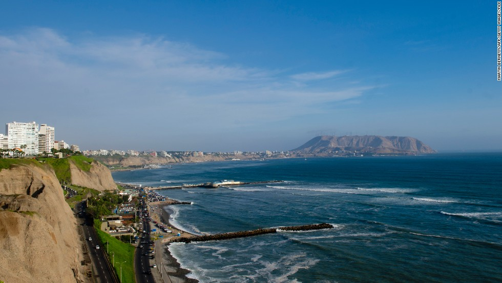 Lima is Peru's largest city by far. It's home to more than a quarter of Peru's roughly 30 million people, has wonderful food, the beautiful Miraflores District (where you can drink while overlooking beaches) and excellent museums.